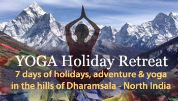 yoga holiday retreat in dharamsala